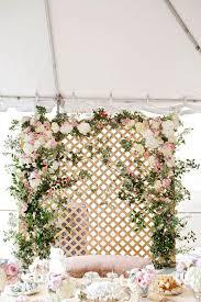 wedding backdrop lattice dreamy floral lattice backdrop hi miss puff