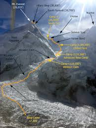 Map Of Everest 2016 Mt Everest Expedition Coverage With International Mountain