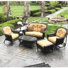 Charleston Outdoor Furniture by Aluminum Wicker Patio Furniture Foter