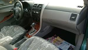 2010 Corolla Interior Toks 2010 Corolla Xle Mint Green And Superb Autos Nigeria