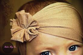 how to make baby hair bands ridiculously easy baby headband tutorial no sewing required