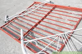 how to paint a metal bed frame with pictures wikihow