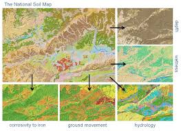 soil map mapping and understanding soil types across and wales