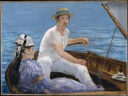 Berthe Morisot In The Dining Room édouard Manet Boating The Met