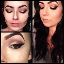 tnt makeup school warm brown autumn smokey eye beverly contour kit