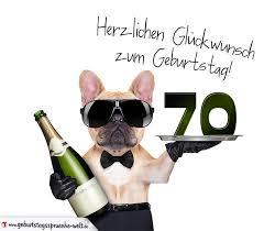 geburtstagssprüche zum 70 glückwunschkarte mit hund zum 70 geburtstag geburtstagssprüche welt