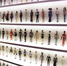 painted wooden artist mannequins as personalities and