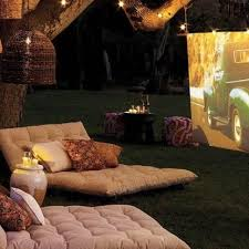 Backyard Theater Ideas Diy Backyard Pico Projectors Tv Media