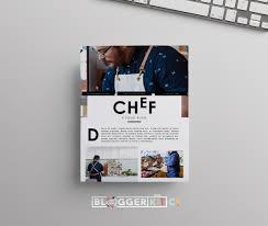 chef media kit template for food bloggers diy media kit