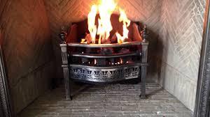 custom chesneys gas coal basket youtube
