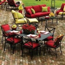 Patio Cushions Home Depot Patio Red Patio Cushions Home Interior Design