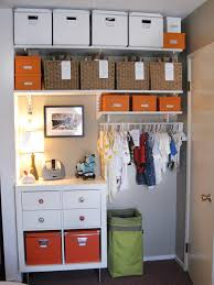 photos hgtv contemporary boys bedroom with open organized closet