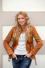light brown leather jacket womens glamorous young woman tan leather jacket trendy leather