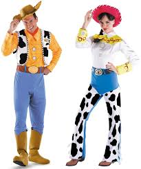 couples toy story woody jessie costume disney movie