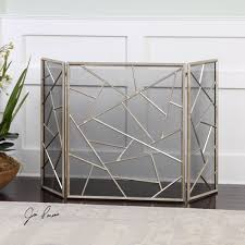 cool crystal fireplace screen design ideas best and crystal