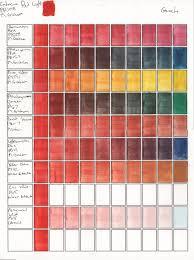 gouache color mixes cadmium red pr108 m graham