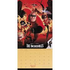 disney pixarwall calendar 038576635883 calendars com