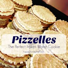 pizzelles the perfect italian wafer cookie happily homegrown