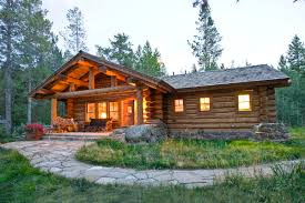 Small Cabin In The Woods by Lost Creek Cabin Teton Heritage Builders
