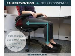 desk ergonomics tips pain prevention