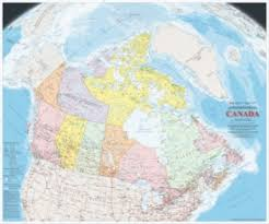 detailed map of usa and canada canada maps maps of canada