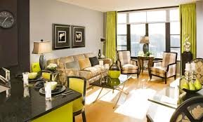 Green Living Room Furniture by Lime Green And Brown Living Room Decor Centerfieldbar Com