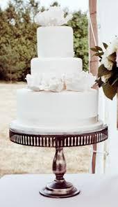 criss cross ribbon wedding cake because of love pinterest