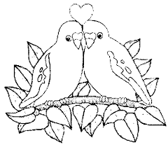 bird coloring pages to print love bird coloring pages funycoloring