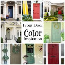 looking for a new front door color that looks good on a gray house