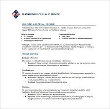 usajobs resume template usajobs sample resume sample resume
