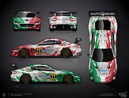 the approved full wrap design project for mercedes amg gt wicked