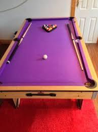purple felt pool table bce riley pool table 6ft purple felt as new folding all accessories