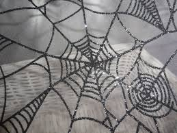 spooky texture halloween fabric spiderweb sheer fabric spooky textured spider