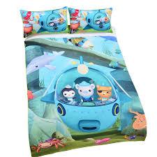 Octonauts Bed Set Octonauts Bedding Duvet Cover Bedding Soft Bedding Gift