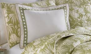 tommy bahama bed pillows tommy bahama home cane lime embroidered 16 x 20 decorative pillow