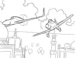 93 dusty airplane coloring disney planes skipper