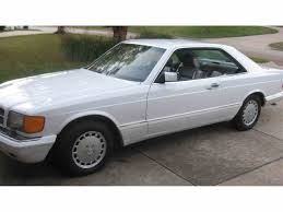 1986 mercedes 560 sec mercedes 560sec for sale on classiccars com 9 available