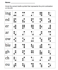 pizza braille game part word contractions paths to literacy