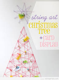 Arts And Crafts Christmas Tree - christmas tree string art diy learn to make your own string