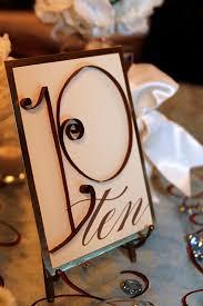 Wedding Table Number Ideas Wedding Tables Wedding Table Number Ideas Fall Creative Wedding
