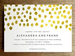 polka dot invitations printable wedding invitation gold dots e m papers