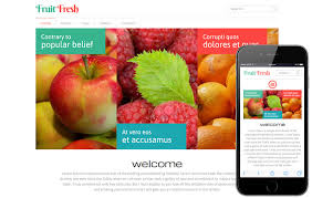 fruit fresh fruit fresh a agriculture category flat bootstrap responsive web