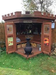 pub sheds u0027 quickly becoming trend in backyard entertainment