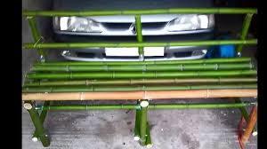 meubles en bambou banc en bambou la vidéo fait le 30 07 2014 fait par