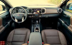 nissan trucks interior 2016 toyota tacoma limited review u2013 off road taco truck video