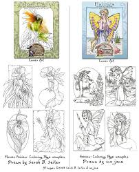 fairy coloring pages cover art by misticunicorn on deviantart