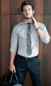 how to wear a grey polka dot dress shirt 4 looks men u0027s fashion