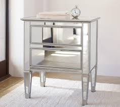 pottery barn bedside table park mirrored 2 drawer bedside table pottery barn au