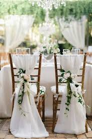 chair decorations 12 chic and groom wedding chair decoration ideas oh best