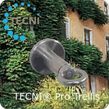 Stainless Steel Trellis System Garden Design U0026 Tecni Cable Trellis Solutions